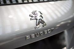 Peugeot bil fotografering för bildbyråer