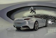Peugeot SR1 Concept 2010. Peugeot cabriolet concept car at Geneva Motorshow 2010 stock photos