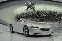 Peugeot SR1 Concept 2010. Peugeot cabriolet concept car at Geneva Motorshow 2010 stock photo