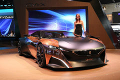 Peugeot Car Onyx Concept Stock Images