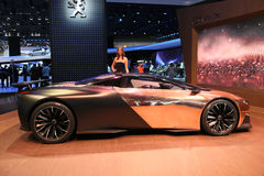 Peugeot Car Onyx Concept Royalty Free Stock Image