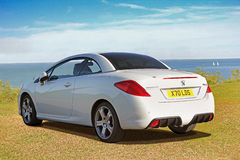 Peugeot 308cc convertible Royalty Free Stock Photography