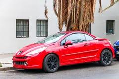 Peugeot 207CC Royalty Free Stock Photos