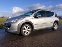 Peugeot 207 commutateurs &#x28 ; estate&#x29 ; Sport 1 extérieur 6 VTi XS Photo stock