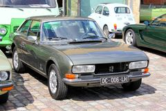 Peugeot 504 Coupe Royalty Free Stock Photography