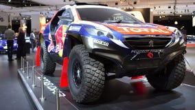Peugeot 2008 DKr de Paris-Dakar de voiture de rassemblement clips vidéos