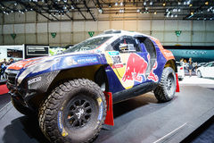 Peugeot 2008 DKR, Motor Show Geneve 2015 Royalty Free Stock Photo