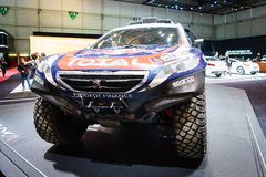 Peugeot 2008 DKR, Motor Show Geneve 2015 Stock Image