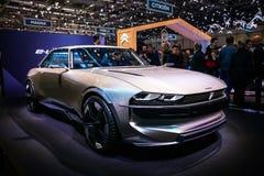 Peugeot e-legend royaltyfria foton