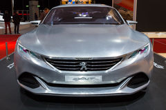 Peugeot Egzaltuje zdjęcie stock