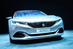 Peugeot Egzaltuje, Motorowy przedstawienie Genewa 2015 obraz stock