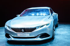 Peugeot Egzaltuje, Motorowy przedstawienie Genewa 2015 fotografia stock