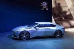 Peugeot Egzaltuje pojęcie samochód Fotografia Stock