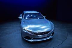 Peugeot Egzaltuje samochód zdjęcie stock
