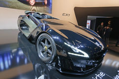 Peugeot EX1 Concept Royalty-vrije Stock Foto's