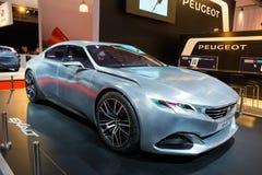 Peugeot Exalt concept  car Stock Photo