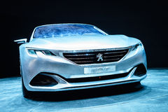 Peugeot Exalt, Motor Show Geneva 2015. Stock Image