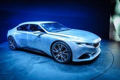 Peugeot Exalt, Motor Show Geneve 2015. Royalty Free Stock Photo