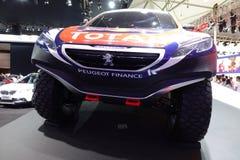 PEUGEOT finanse 2008 DKR zdjęcia stock