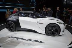 Peugeot Fractal αυτοκίνητο Στοκ Φωτογραφίες