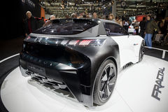 Peugeot Fractal αυτοκίνητο Στοκ Φωτογραφία