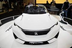 Peugeot Fractal αυτοκίνητο Στοκ φωτογραφία με δικαίωμα ελεύθερης χρήσης