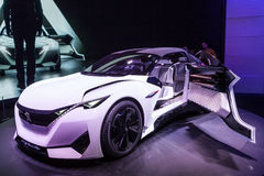 Peugeot Fractal Concept Car at the IAA 2015 Royalty Free Stock Image