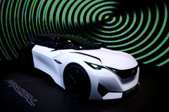 Peugeot Fractal concept at the IAA Cars Stock Photo