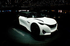 Peugeot-Fractal in Genève 2016 Stock Foto's