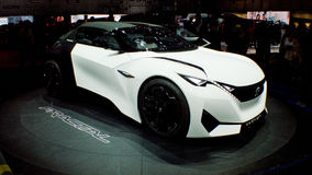Peugeot Fractal at Geneva 2016 Stock Photo