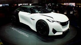 Peugeot Fractal på Genève 2016 Arkivfoto