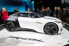 Peugeot Fractal samochód obrazy stock