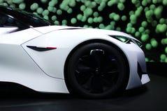 Peugeot Fractalbegrepp på IAA-bilarna Arkivbild