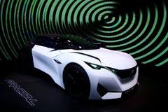 Peugeot Fractalbegrepp på IAA-bilarna Arkivfoto