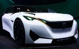 Peugeot Fractalbegrepp på IAA-bilarna Arkivfoton