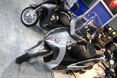 Peugeot Geopolis electric scooter motorbike Royalty Free Stock Photo
