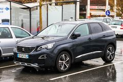 Peugeot 3008 zdjęcia stock