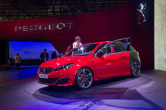 Peugeot 308 GTI - world premiere. Stock Photography