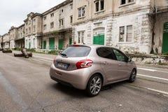 Peugeot 208 ?-Hdi 1 6cc στοκ φωτογραφίες
