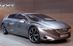 Peugeot HX1概念汽车 免版税库存照片