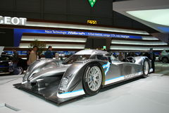 Peugeot Hybrid 4 at Geneva 2009 Royalty Free Stock Photo