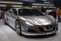 Peugeot Hybride RC4 Royalty-vrije Stock Afbeelding
