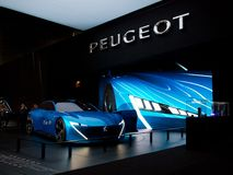 Peugeot Instinct in Geneva 2017 Royalty Free Stock Photography