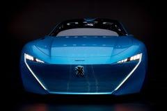 Peugeot Instynktowy autonomiczny samochód Obrazy Stock