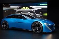Peugeot Instynktowy autonomiczny samochód obrazy royalty free
