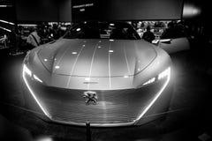 Peugeot instynktowy samochodowy pojęcie zdjęcie royalty free