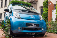 Peugeot jonu prezentacja zdjęcia stock