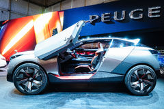 Peugeot kwarc, Motorowy przedstawienie Genewa 2015 obraz royalty free