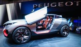 Peugeot Kwarcowy pojęcie, Motorowy przedstawienie Geneve 2015 Obrazy Stock