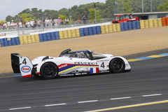 Peugeot 905 in Le Mans Royalty Free Stock Photography